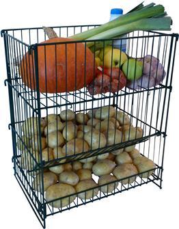 Resserre à pommes de terre et légumes capacité 50 Kg