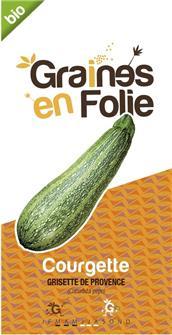 Courgette Grisette de Provence AB bio