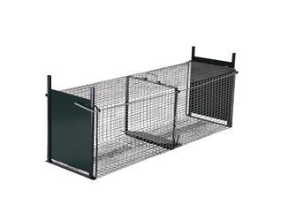 Cage piègeuse 2 entrées pour nuisibles