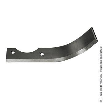 Couteau de fraise labour adaptable droite 200 mm Courmont CLC20D