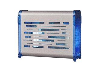 Désinsectiseur électrique inox bleu pour 120 m²