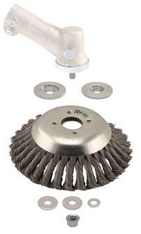 Tête universelle de désherbage mécanique pour débroussailleuse diam. 20 cm