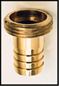 Raccord mâle laiton 26/34 cannelé pour tuyau de 25