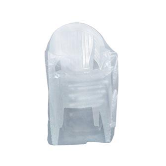 Housse 90 g grise pour chaises 70x70x110 cm