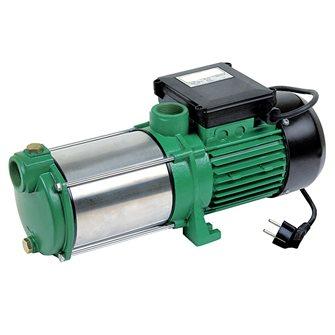 Pompe d´arrosage inox 5 turbines autoamorçante 1 450 W 90 l./min. refoulement 55 mètres