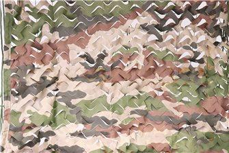 Filet de camouflage ou d´ombrage imprimé camouflage 3x6 m